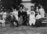 Picture relating to Maryborough - titled 'Miller family, Maryborough, ca. 1900'