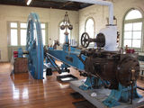 Picture relating to Goulburn - titled 'Hick, Hargreavesand Co. steam engine, Goulburn pumping station'