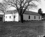 Picture relating to Reid - titled 'St John's schoolhouse, Constitution Avenue, Reid.'