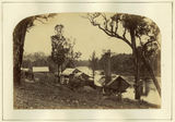 Picture relating to Gympie - titled 'Flooded river in the Gympie area, March 1870'