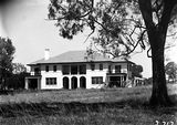 Picture relating to Deakin - titled 'Prime Minister's Lodge, Adelaide Avenue, Deakin, from the north.'