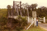 Picture relating to Long Flat - titled 'Kindee Suspension Bridge'