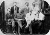 Picture relating to Mackay - titled 'Businessmen of Mackay including Adam Roy McGregor'