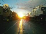 Picture relating to Brunswick East - titled 'Brunswick East-Lygon St, heading south early moring in autumn'