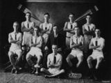 Picture relating to Brisbane - titled 'Winners junior Eights, Regatta, Brisbane, Queensland,1926'