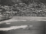 Picture relating to Burleigh Heads - titled 'Aerial view of Burleigh Heads, Gold Coast, ca. 1952'