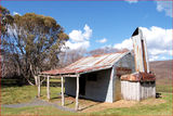 Picture relating to Bradleys Hut - titled 'Bradleys Hut - Snowy Mountains - NSW'