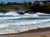 Picture relating to Kiama - titled 'Kiama's Surf Beach'