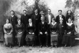 Picture of / about 'Roadvale' Queensland - Badke family at Roadvale, Fassifern Valley, 1919