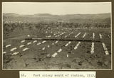 Picture relating to Mount Isa - titled 'Tent settlement south of the Mt. Isa railway station, ca. 1932'