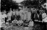 Picture relating to Bulwer - titled 'Students from Bulwer State School, Moreton Island, Queensland, 1906'