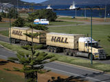 Picture relating to Albany - titled 'Halls Hallage Roadtrain (1)'