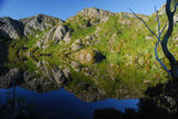 Picture of / about 'Crater Lake' Tasmania - Crater Lake reflection