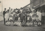Picture relating to Homestead - titled 'Students and staff at Homestead State School, ca. 1925'