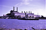Picture of / about 'Newport' Victoria - Newport power station and Williamstown vehicle ferry
