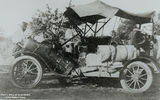 Picture relating to Winton - titled 'Model T Ford, driven by Sir Hudson Fysh at Winton, Queensland'