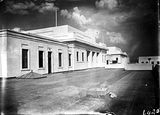 Picture of / about 'Parliament House' the Australian Capital Territory - Structures on the roof of Old Parliament House