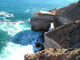Picture relating to Chichester Range - titled 'Cliff Face at Kalbarri WA'