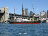 Picture relating to Sydney Harbour - titled 'Sydney Harbour  Barque JAMES CRAIG'