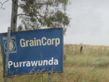 Picture relating to Purrawunda - titled 'Purrawunda - Graincorp sign'
