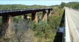 Picture relating to Fergusson River - titled 'Fergusson River + Railway Bridge + Stuart Highway Bridge'