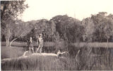 Picture relating to Gold Coast - titled 'Gold Coast Currumbin Creek Swampy area  1930's'