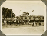 Picture relating to Bundaberg - titled 'Anzac Day service at Bundaberg, ca. 1930'