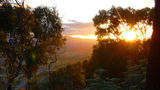 Picture relating to Black Mountain - titled 'Sunset from Black Mountain Summit'