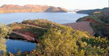 Picture relating to Lake Argyle - titled 'Ord River Dam Lake Argyle'