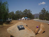 """Broke""  bridge official opening  Wollombi Brook"