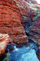 Picture relating to Hamersley Gorge - titled 'The Amphitheatre in Hammersley Gorge'
