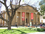 Picture relating to Adelaide - titled 'The Art Gallery of South Australia, Adelaide'