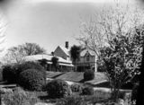 Picture relating to Duntroon - titled 'View of the garden from the Officers' Mess, Duntroon House.'