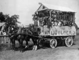 Picture relating to Charters Towers - titled 'Charters Towers butchers' float in the Eight Hour Day Parade, ca. 1914'