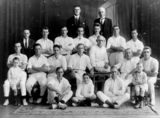 Picture of / about 'Brisbane' Queensland - Members of a Brisbane cricket team