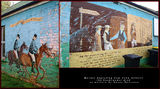 Picture relating to Binalong - titled 'John Gilbert the Bushranger Murals in Binalong, NSW'