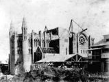 Picture relating to Brisbane - titled 'St John's Anglican Cathedral under construction, ca. 1909'