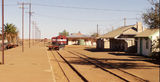 Picture relating to Marree - titled 'Marree Railway Station 2007'