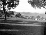 Picture relating to Red Hill - titled 'Red Hill houses, Mount Pleasant in background.'
