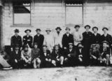 Picture relating to Bowen - titled 'Bowen Post Office staff, ca. 1890'