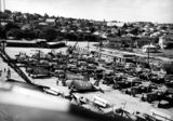 Picture relating to Brisbane - titled 'Lines of fighter planes at Bulimba?, Brisbane, ca. 1943'