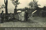 Picture of / about 'Barambah' Queensland - Sir William McGregor visiting Barambah Aboriginal Settlement, ca. 1911
