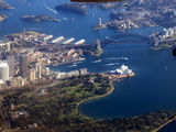 Picture relating to Sydney Harbour National Park - titled 'Sydney City Skyline & Harbour Bridge'