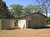 Picture relating to Benarkin - titled 'Forestry truck shed - Benarkin'