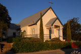 Picture relating to Wongan Hills - titled 'St Peters Anglican church, Wongan Hills WA'