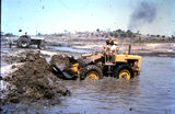 Picture relating to Bowen - titled 'Bowen - constructing Lake Wilson (Mullers Lagoon)'