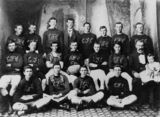 Picture relating to Warwick - titled 'Caxton Football Club, Warwick, 1902'