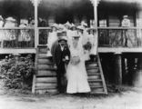 Picture relating to Queensland - titled 'Wedding of James McGinn and Minnie Keylar in May 1901'