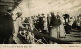 Picture relating to Redcliffe - titled 'Excursion to Redcliffe on the S.S. Emerald'