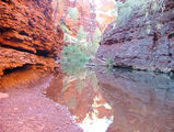 Picture relating to Karijini National Park - titled 'Weano Gorge'